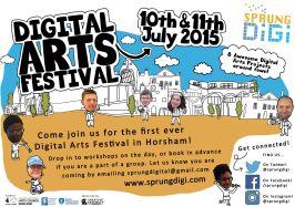 Marketing for SprungDigi Digital Arts Festival