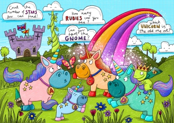 Unicorn activity page