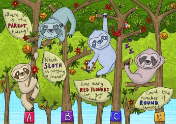 Sloth activity page
