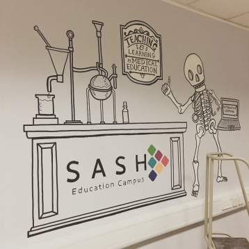 SASH Educational Centre Mural