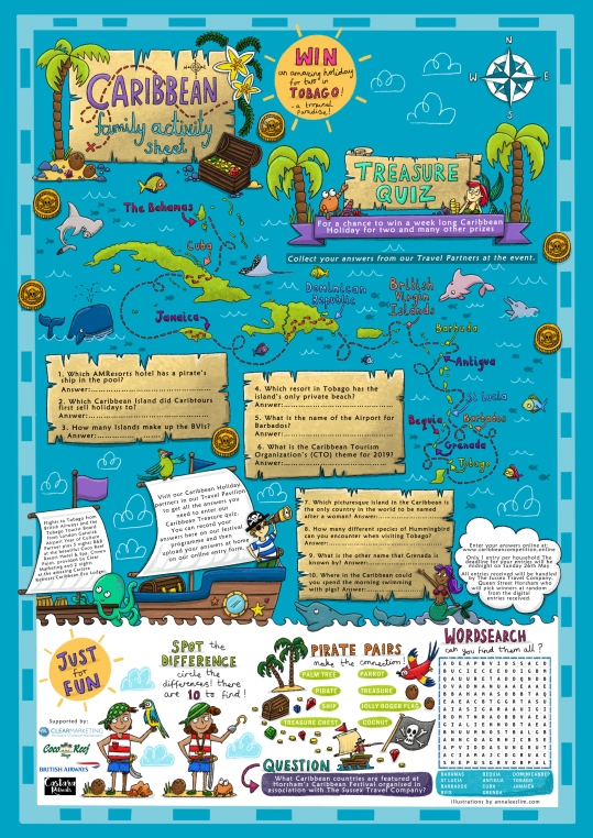 Treasure Map - Caribbean Festival